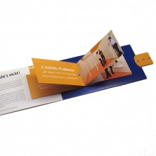 carte catalogue ou carte brochure