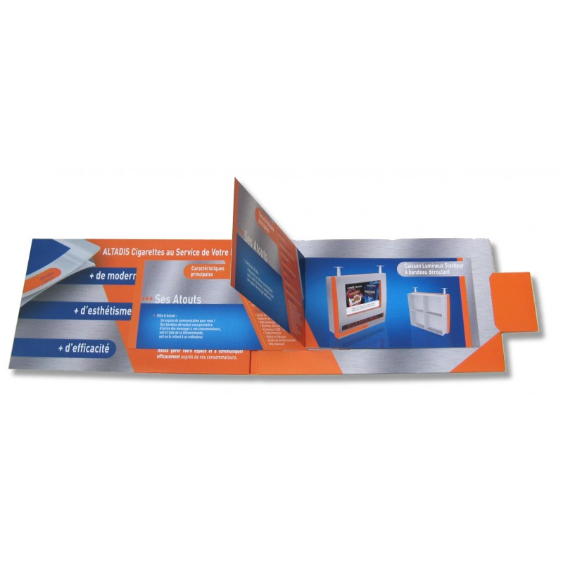 carte catalogue grand format