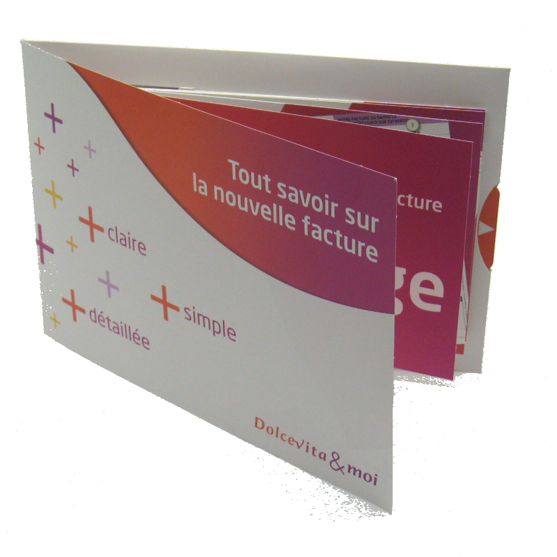 carte catalogue format A5