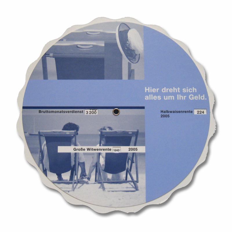 disque avec découpe spéciale
